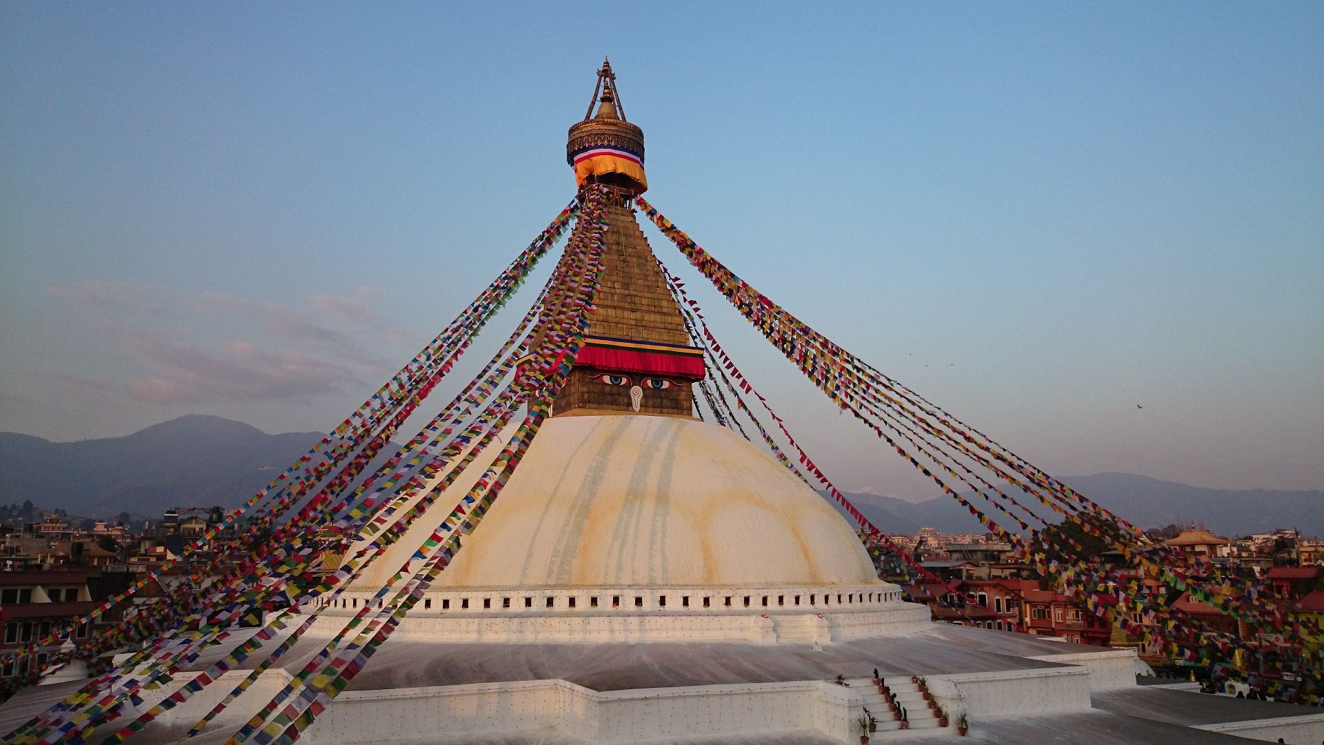Magnificent Photo of Boudhanath Stupa
